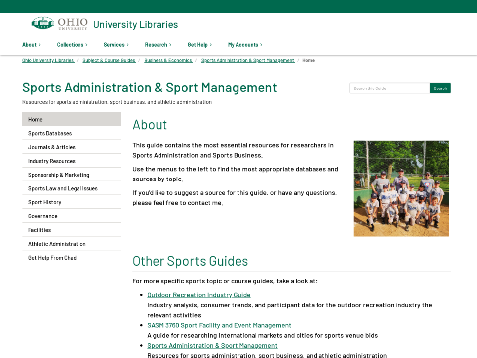 Sports Administration & Sport Management Guide