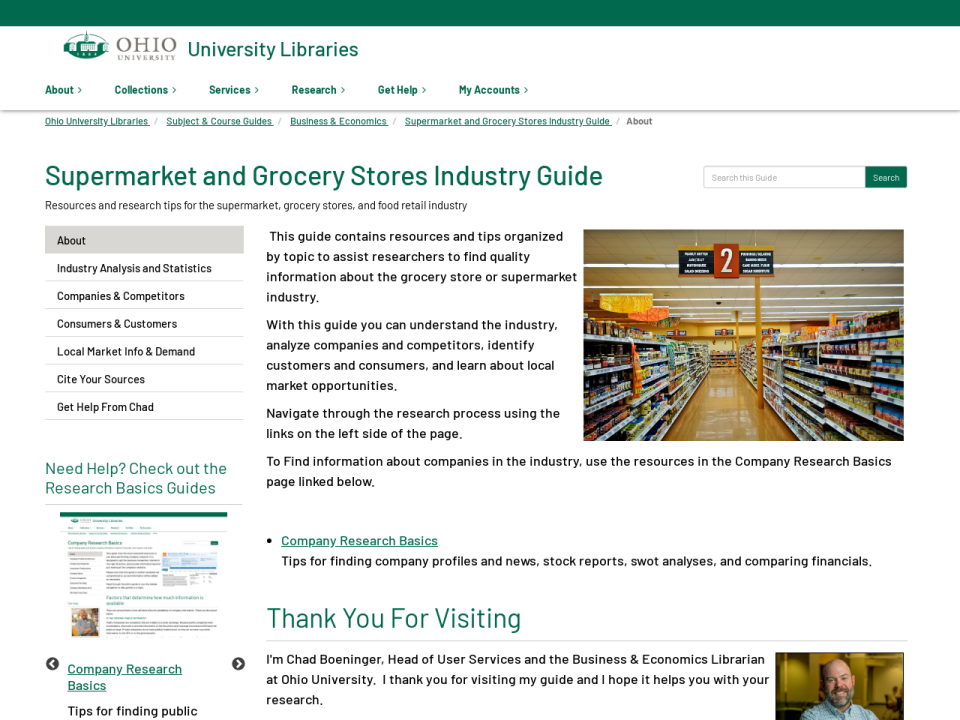 Supermarket Industry Guide